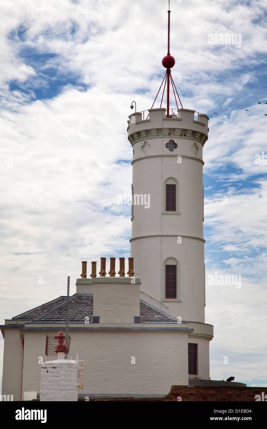 The Signal Tower Museum in Arbroath, Angus, Scotland, United Kingdom, Europe Stock Photo