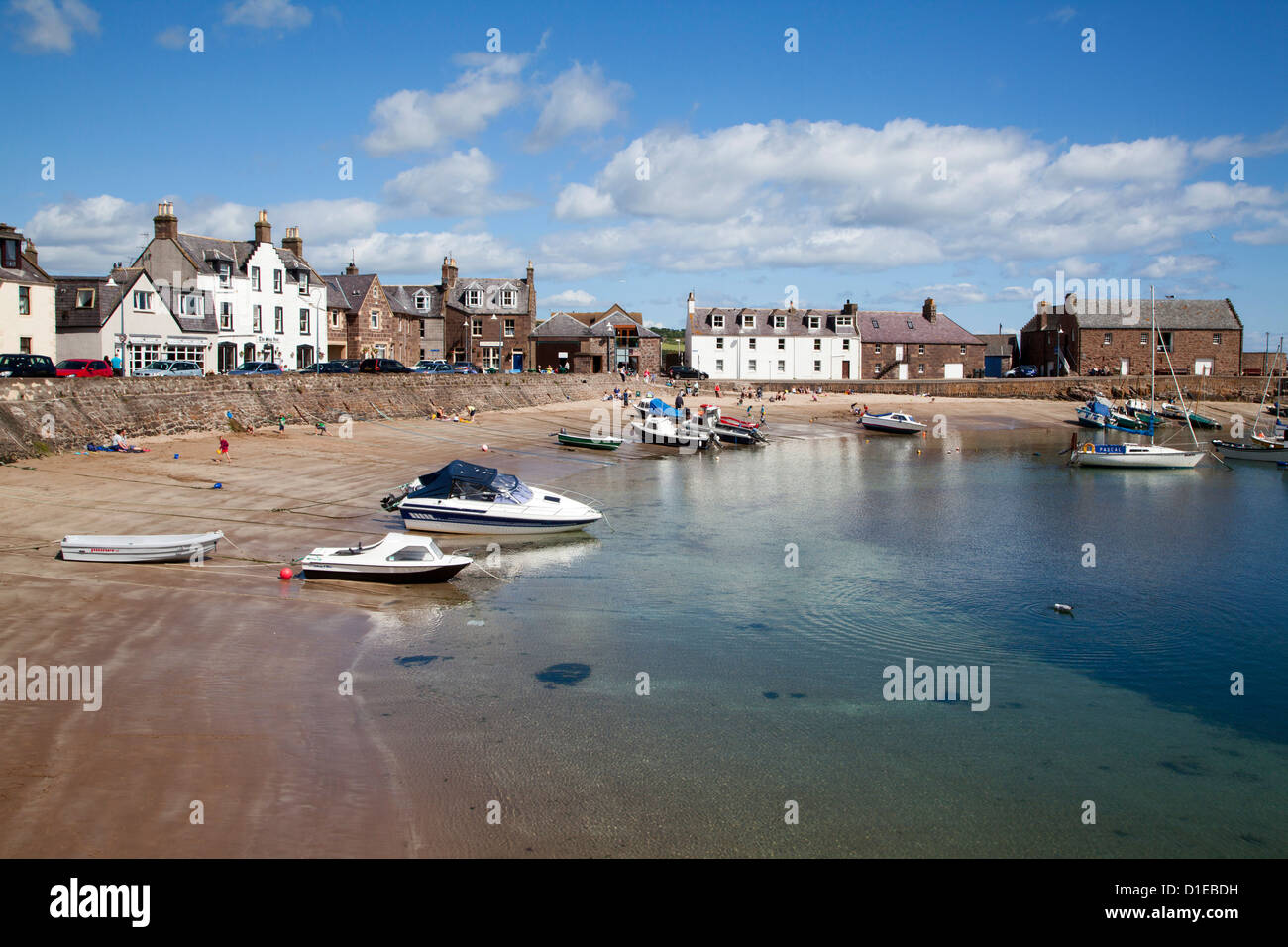 The Harbour at Stonehaven, Aberdeenshire, Scotland, United Kingdom, Europe - Stock Image