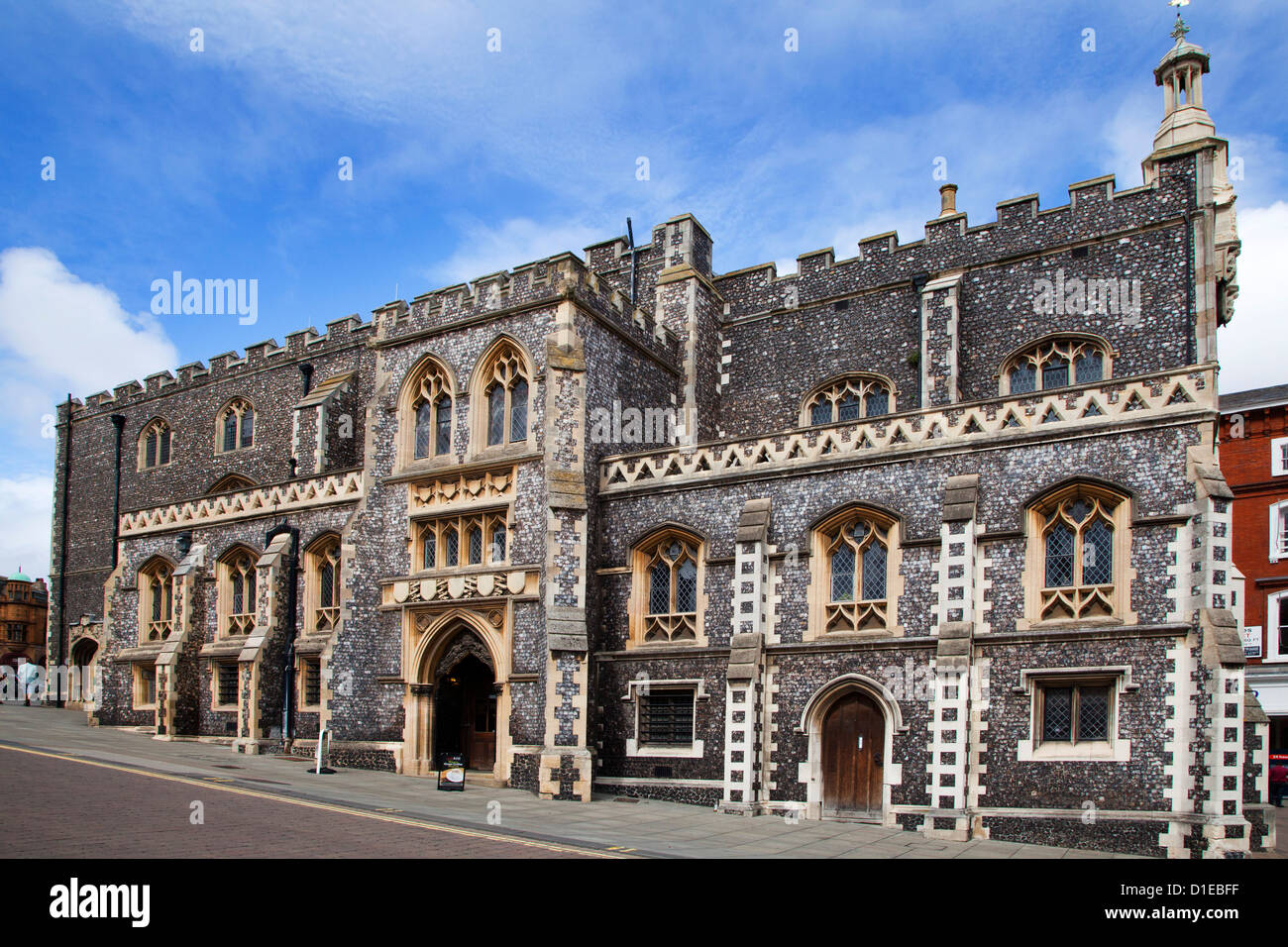 Guildhall in the Market Place, Norwich, Norfolk, England, United Kingdom, Europe - Stock Image