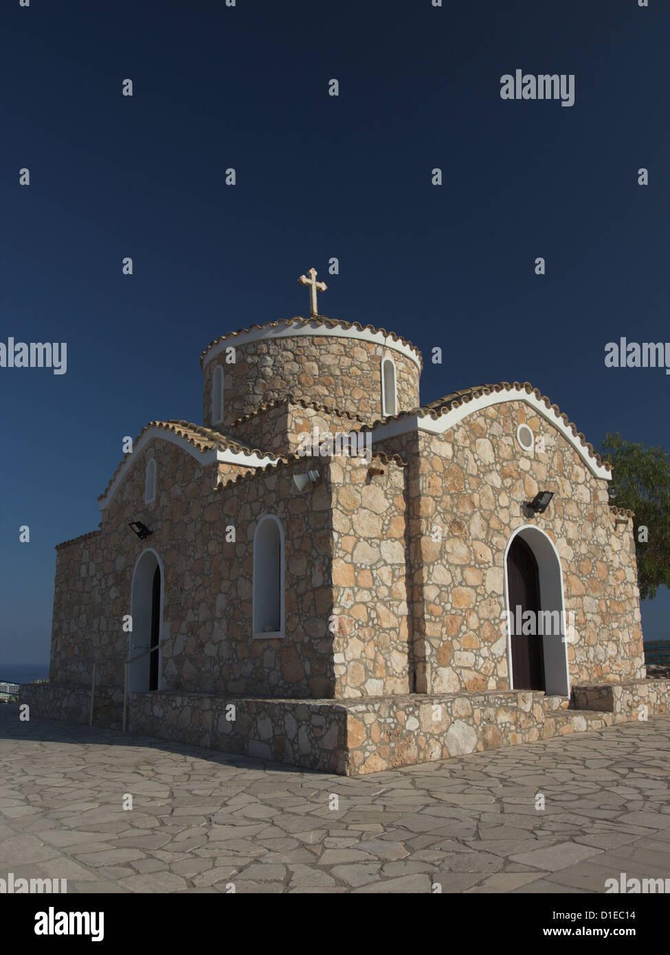 Profitis Ilias Church, Protaras, Cyprus - Stock Image
