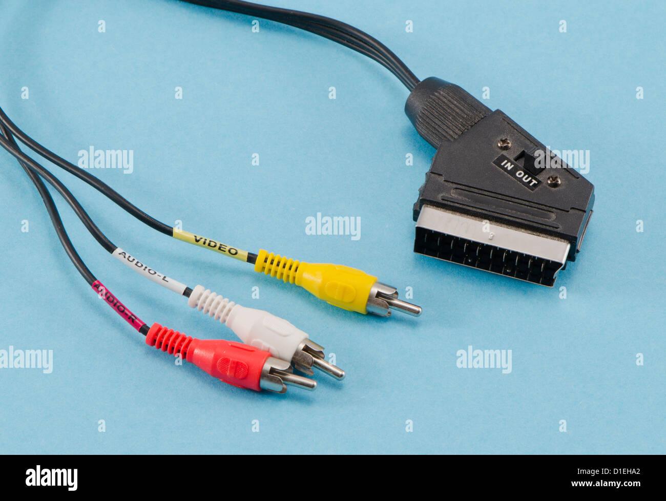 Scart Plug Stock Photos & Scart Plug Stock Images - Alamy