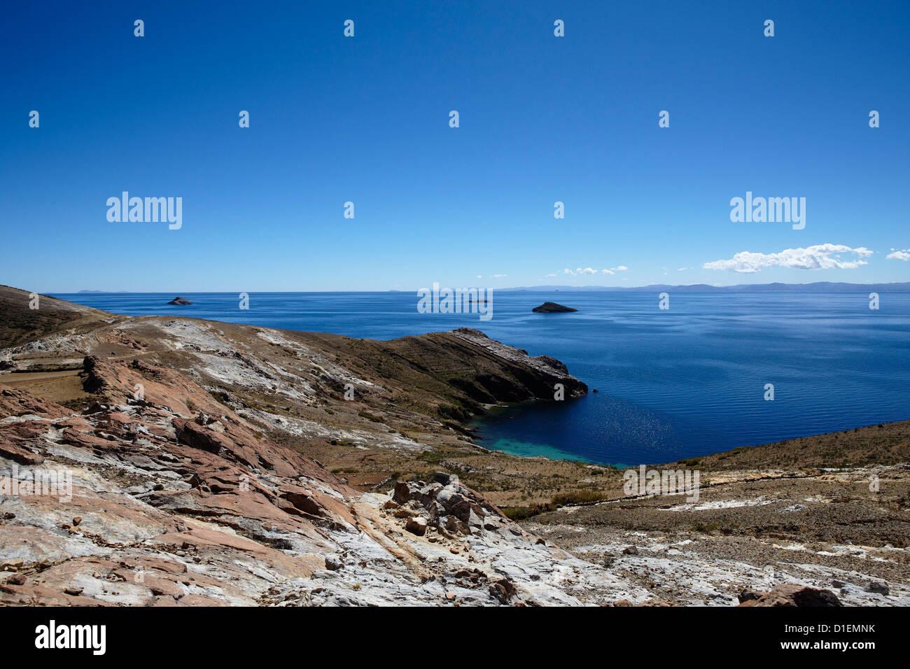 Titicacasee, Bolivia, South America, America - Stock Image