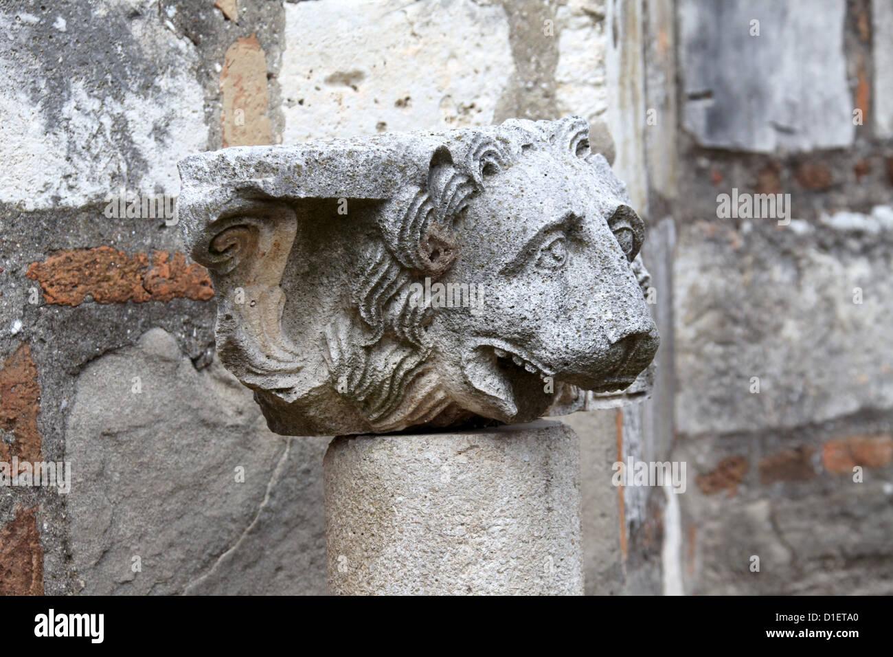 Artefact at Apollonia - Stock Image