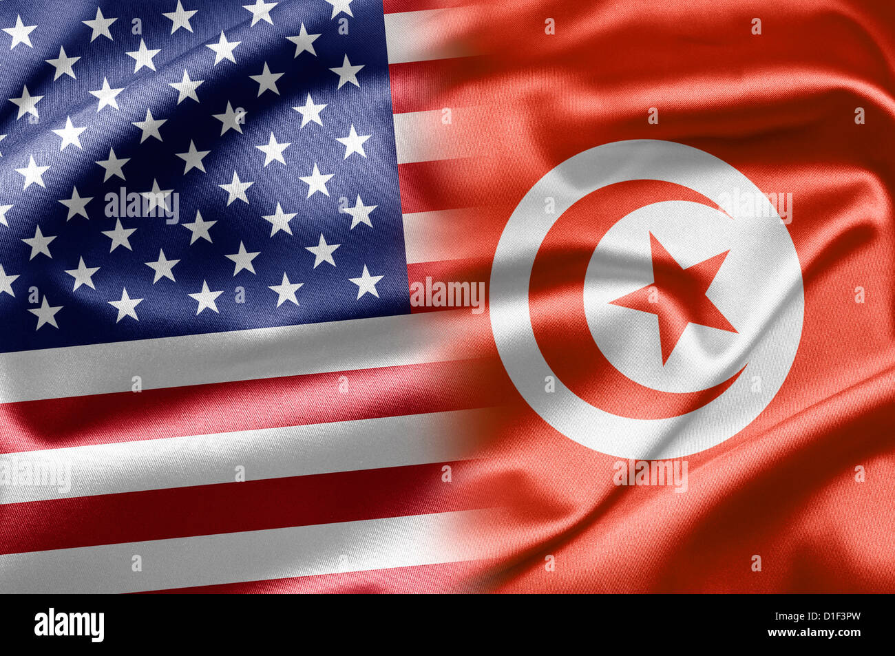 Usa And Tunisia Stock Photo Alamy