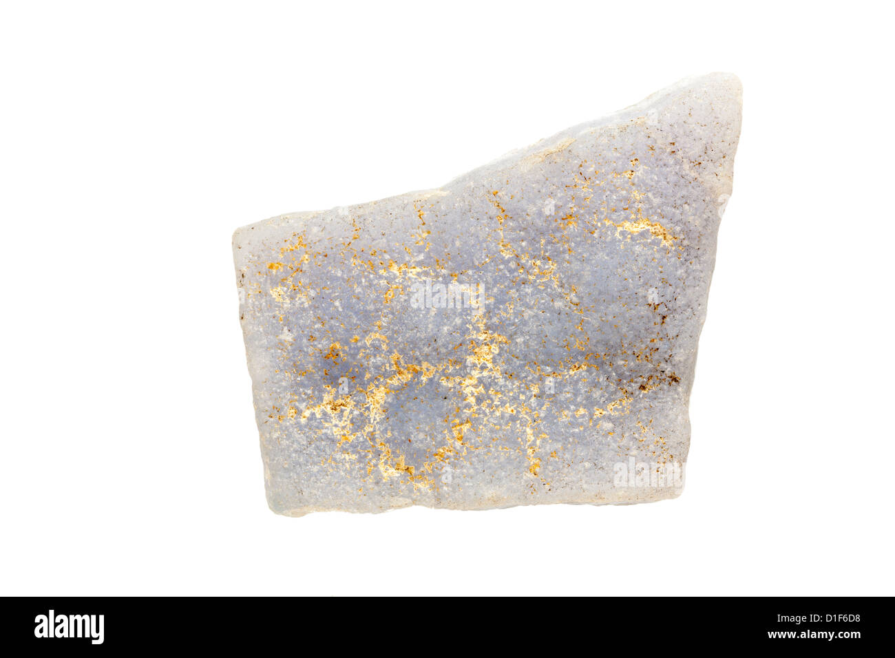 Anhydrite (Angelite) - Stock Image