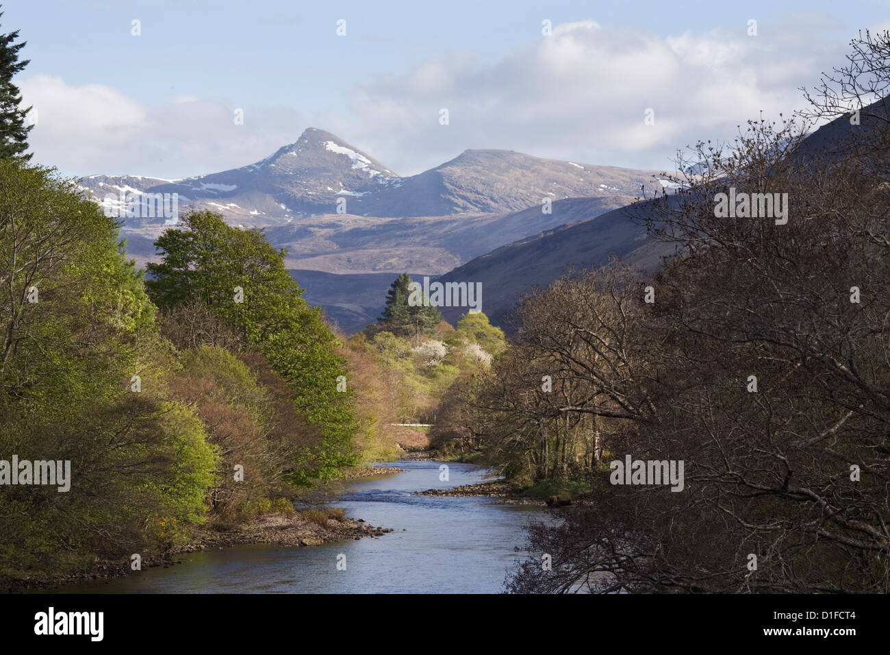 River Broom, near Ullapool, Wester Ross, Highlands, Scotland, United Kingdom, Europe - Stock Image