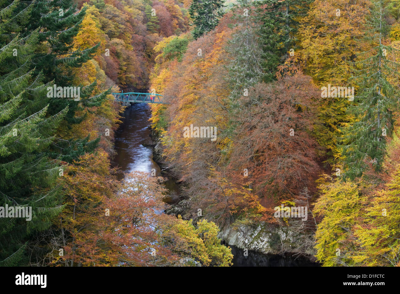 Pass of Killecrankie, Pitlochry, Perthshire, Scotland, United Kingdom, Europe - Stock Image