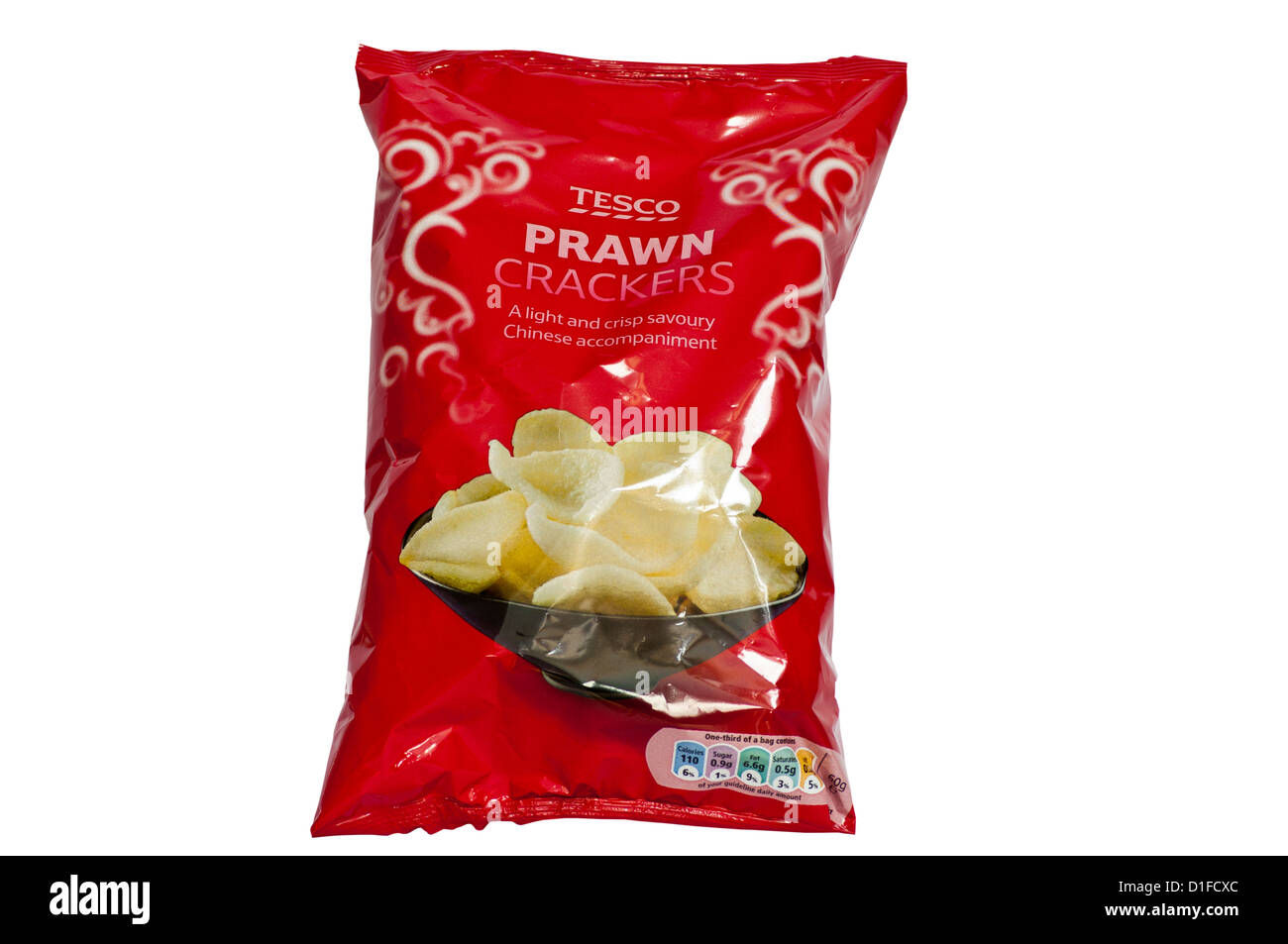 Tesco cut out stock images pictures alamy pack of tesco prawn crackers stock image solutioingenieria Images