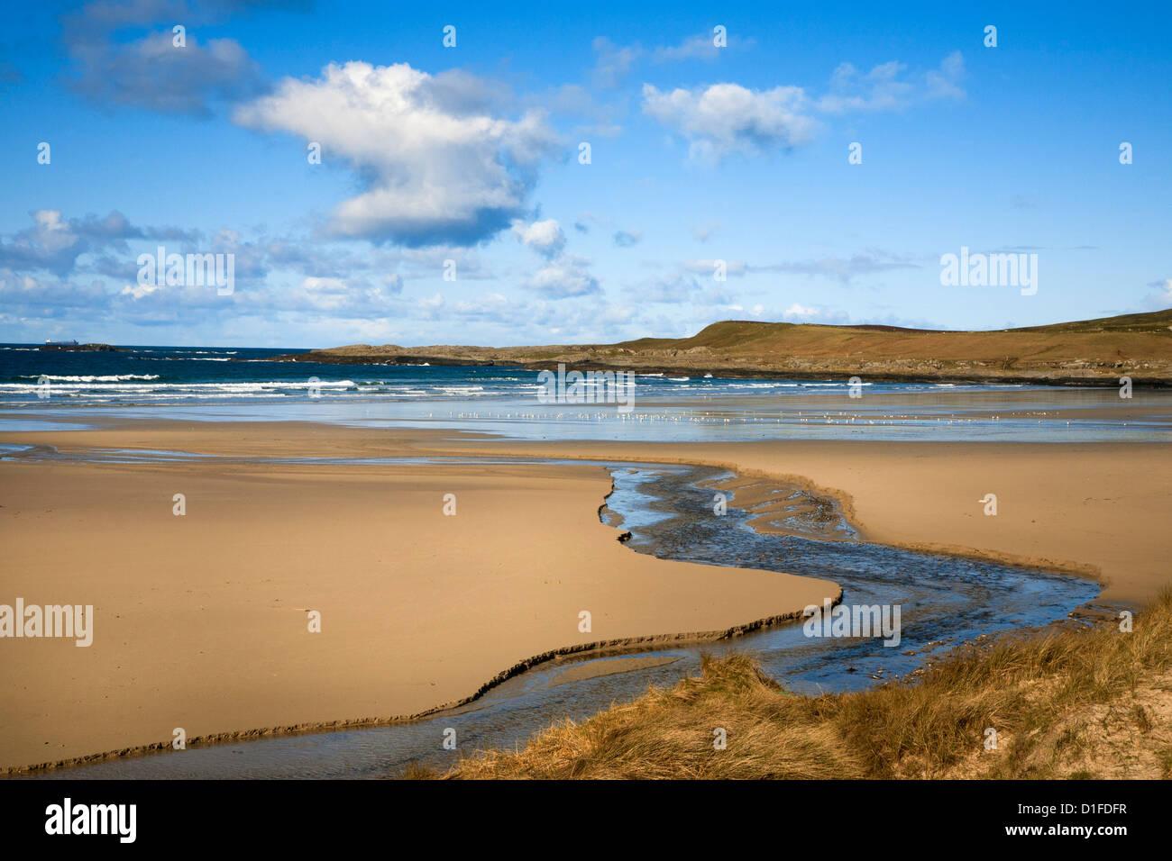 Machir Bay, Islay, Scotland, United Kingdom, Europe - Stock Image