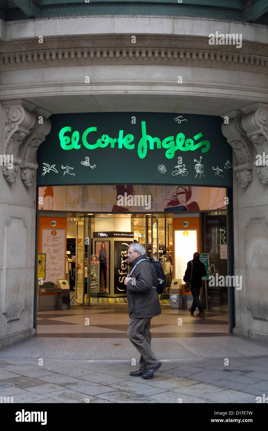 El corte ingles stock photos el corte ingles stock images alamy - El corte ingles stores ...