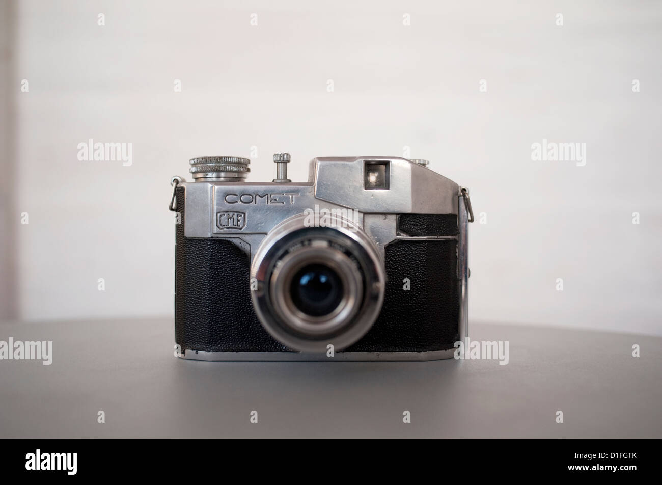 Bencini Comet camera made in Italy by CMF Bencini from 1948 into the 1950s. - Stock Image