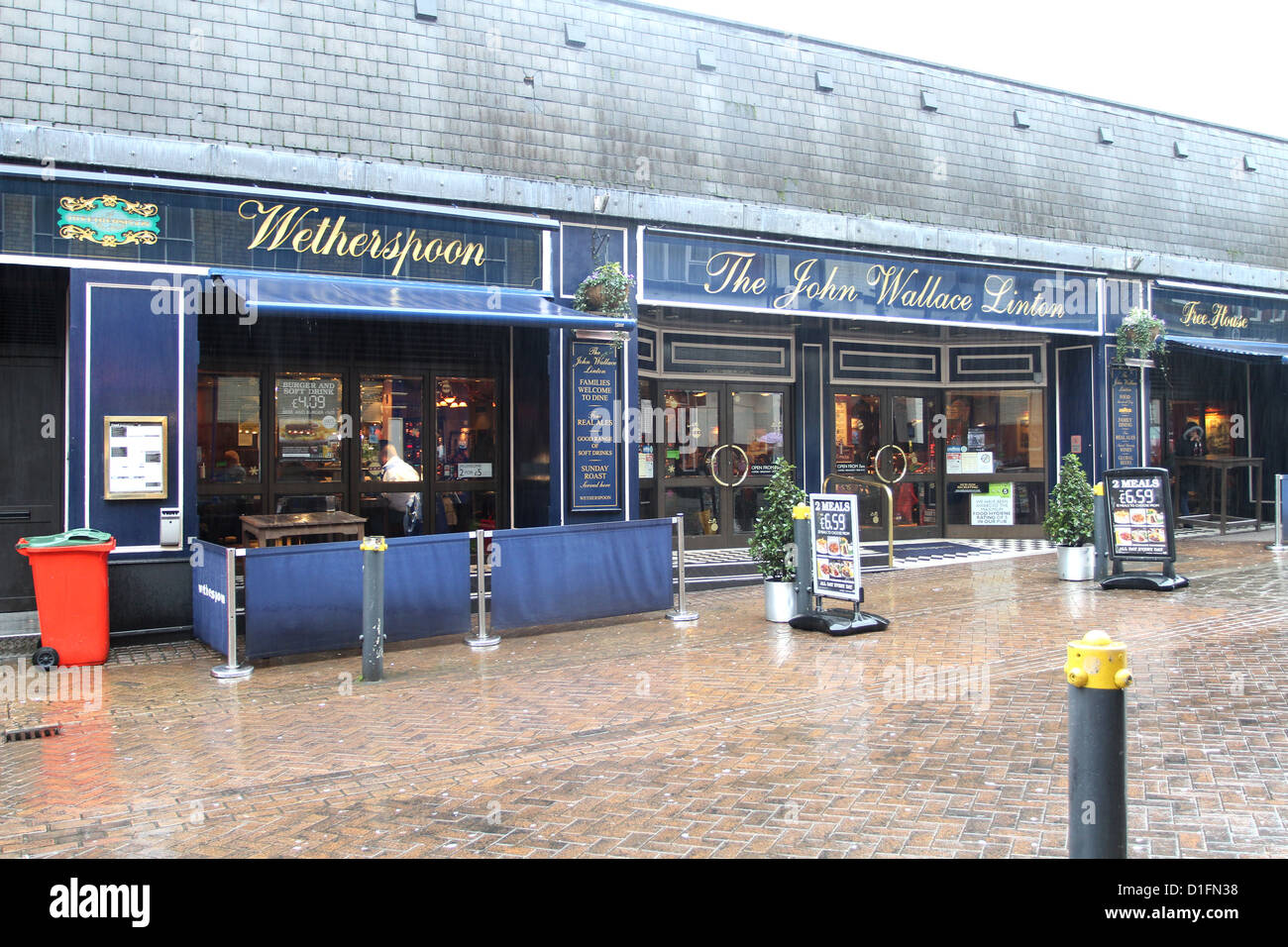 Wetherspoon's pub in  Newport South Wales, - Stock Image