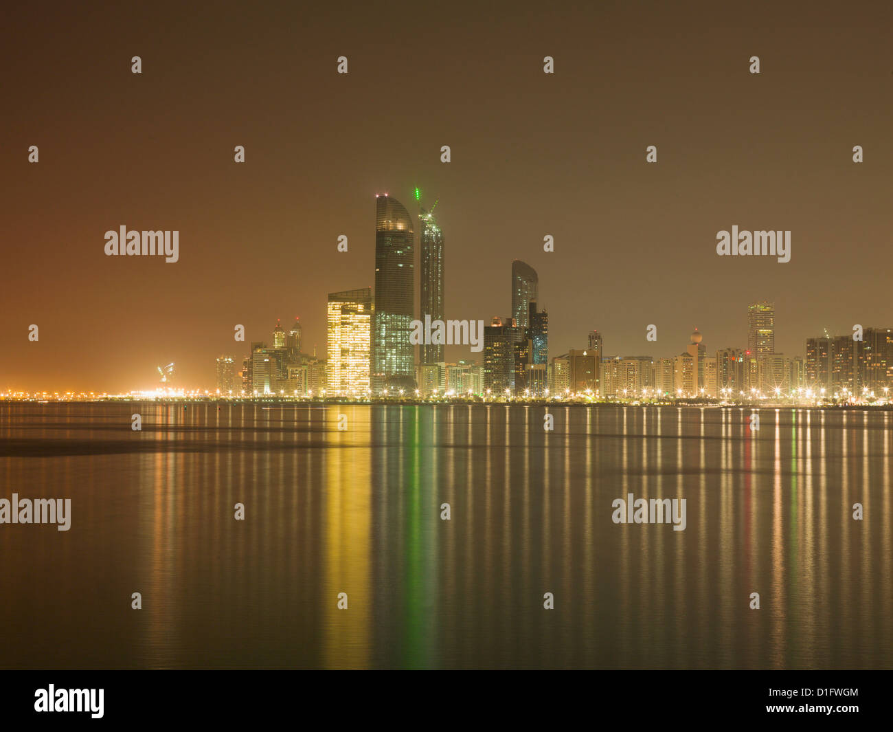 Abu Dhabi, United Arab Emirates, Middle East Stock Photo