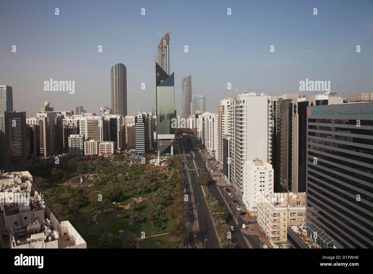 Abu Dhabi, United Arab Emirates, Middle East - Stock Image
