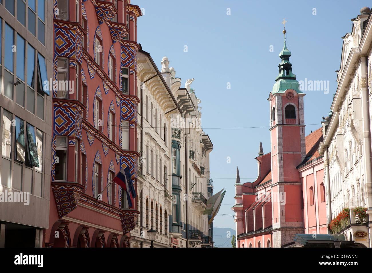 Ljubljana, Slovenia, Europe - Stock Image