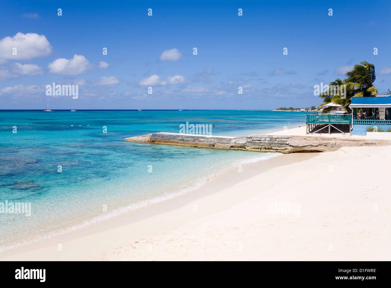 Cedar Grove Beach, Cockburn Town, Grand Turk Island, Turks and Caicos Islands, West Indies, Caribbean, Central America - Stock Image