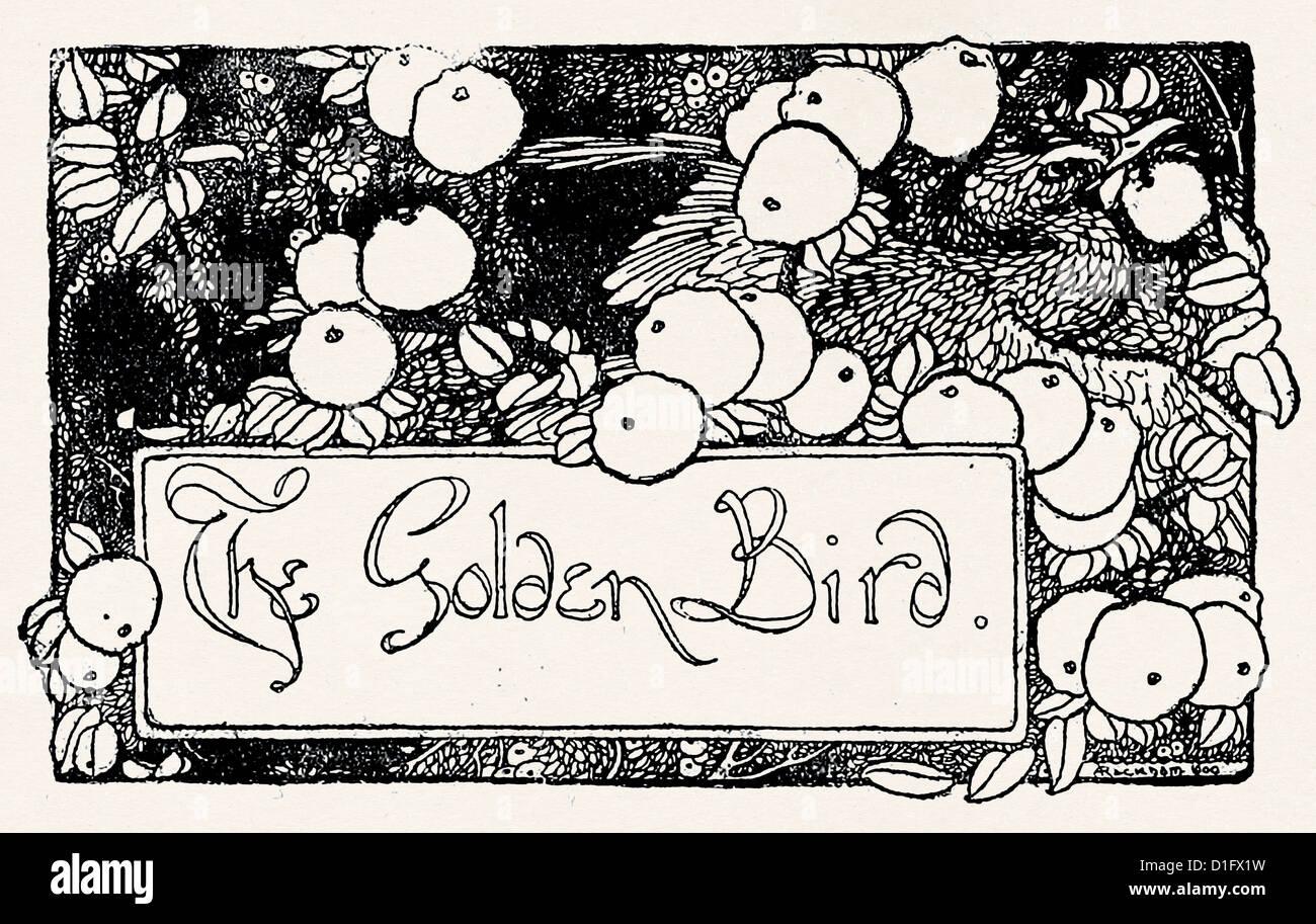 The Golden Bird - Stock Image