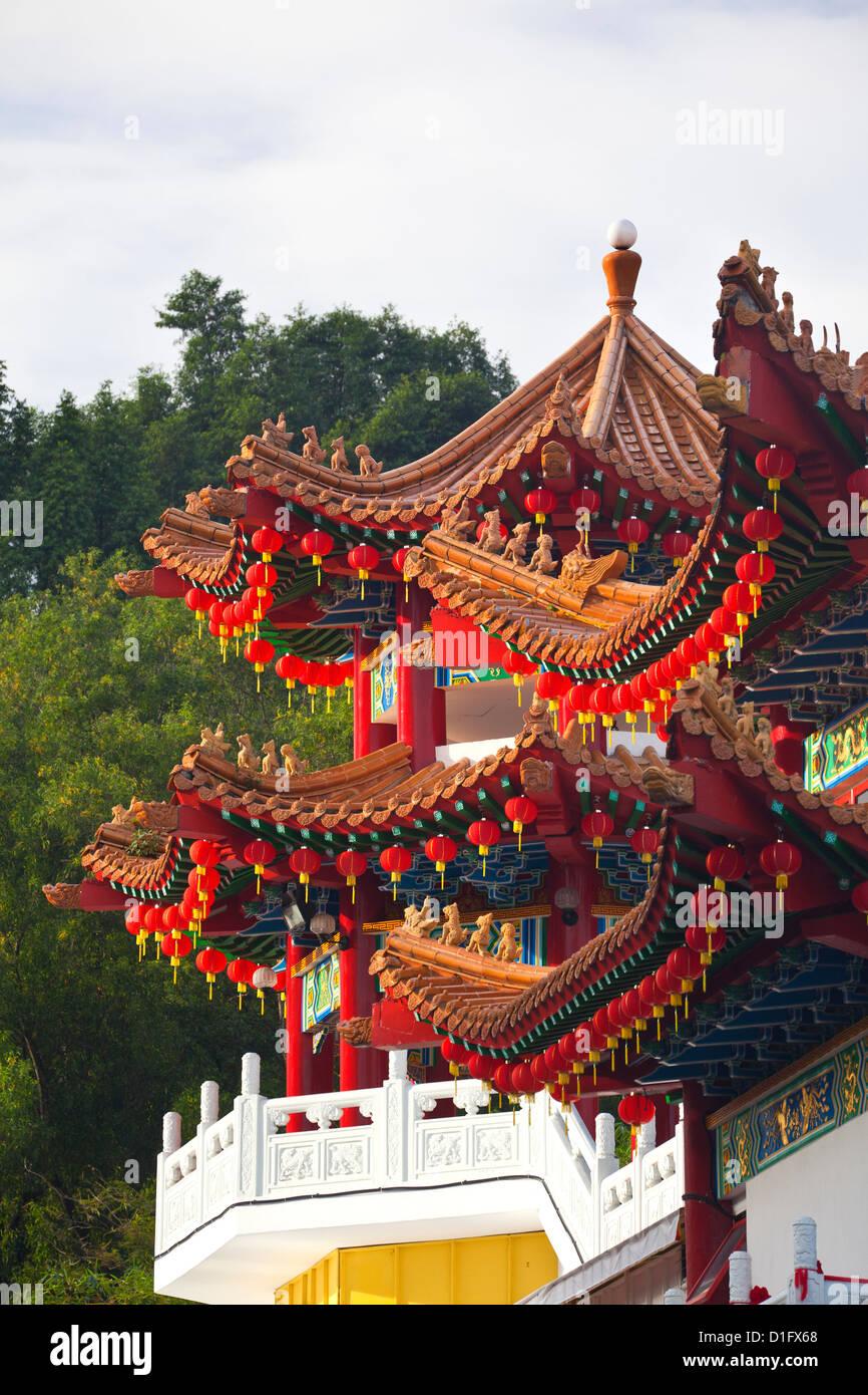 Thean Hou Chinese Temple, Kuala Lumpur, Malaysia, Southeast Asia, Asia Stock Photo