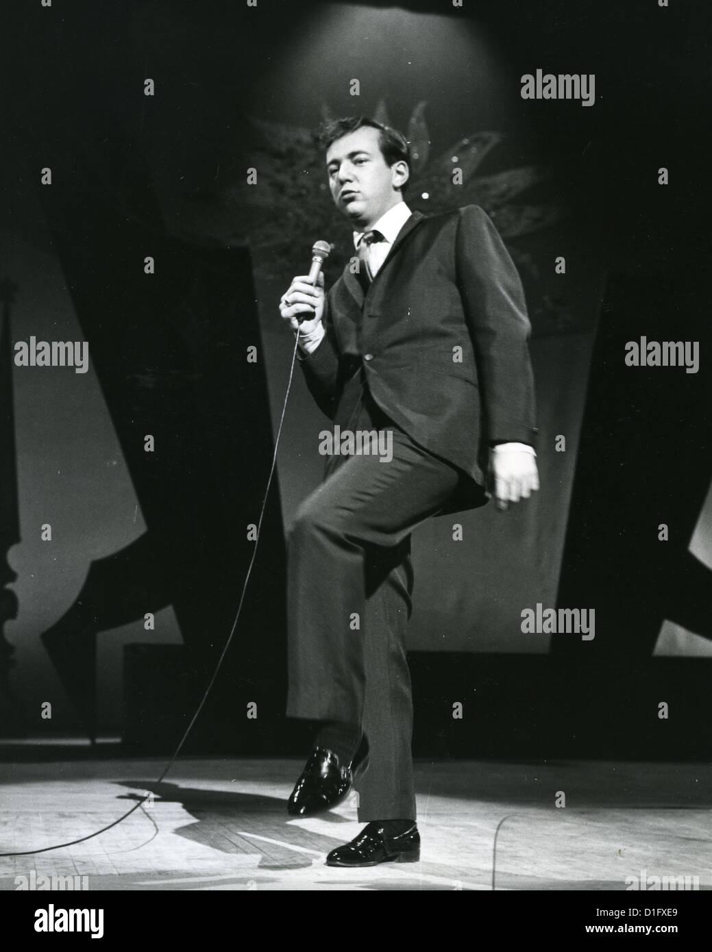 BOBBY DARIN (1936-1973) US singer and film actor in 1959. Photo Harry Hammond - Stock Image