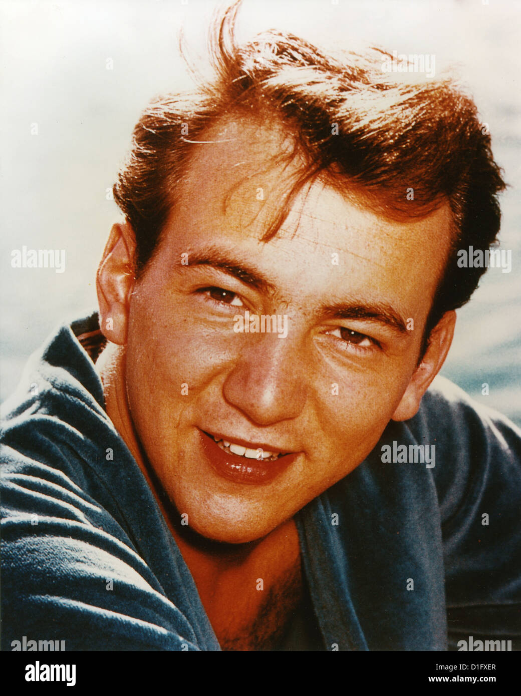 BOBBY DARIN (1936-1973) US singer and film actor in 1959. - Stock Image