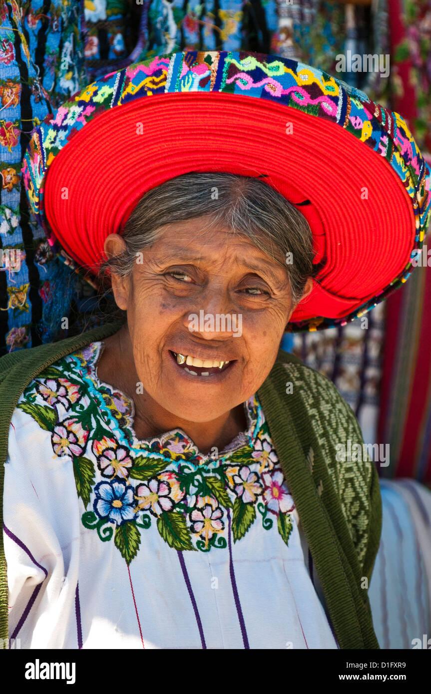 Santiago Atitlan, Guatemala, Central America - Stock Image
