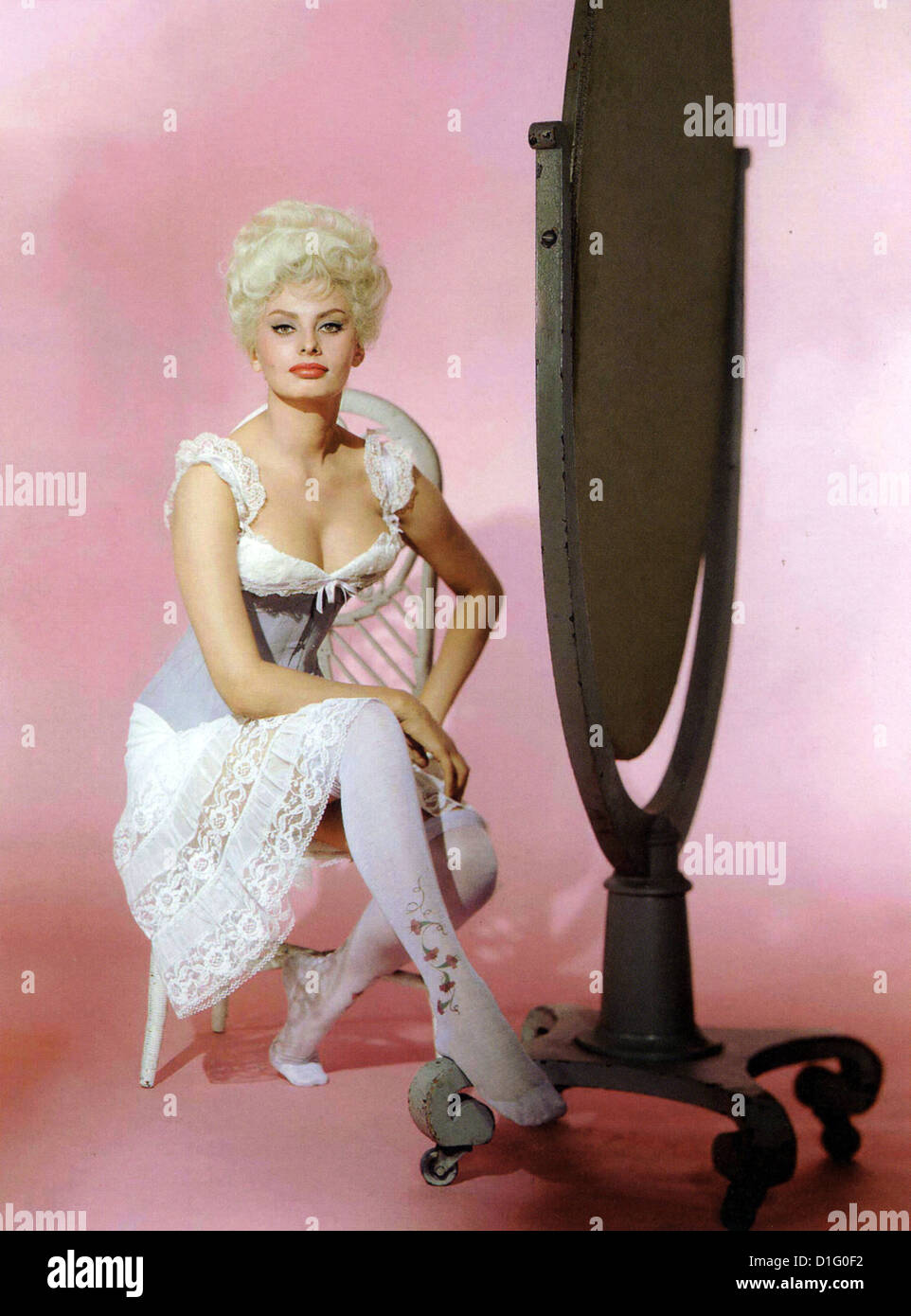 HELLER IN PINK TIGHTS  1960 Paramount film with Sophia Loren - Stock Image