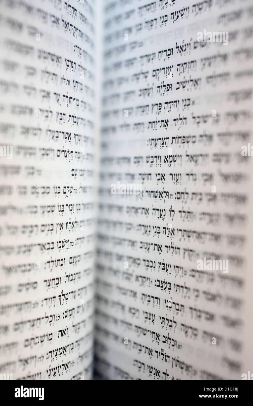 Open Torah, Paris, France, Europe - Stock Image
