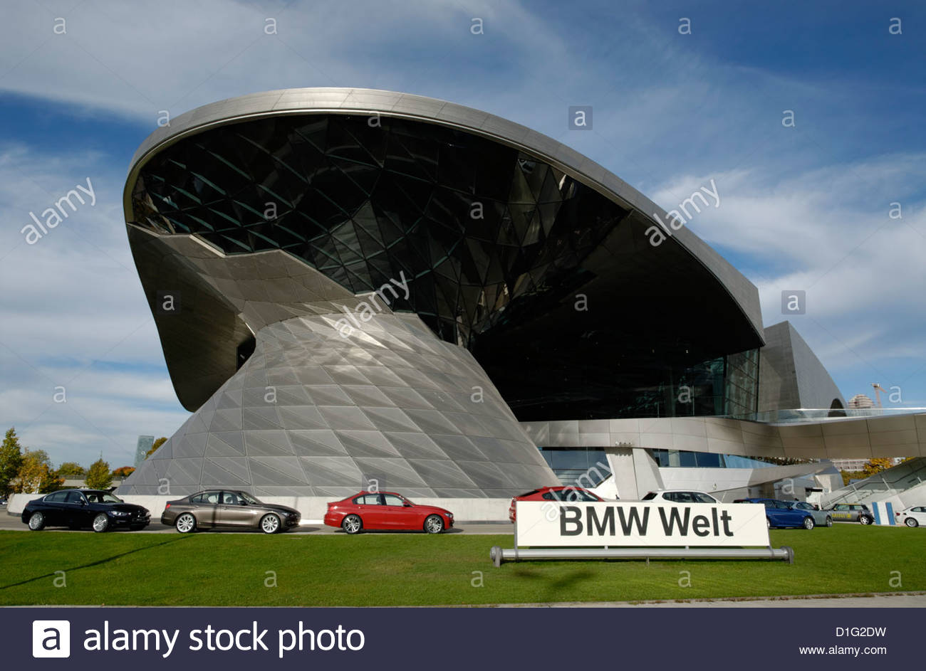 BMW Welt in München ; Germany - Stock Image