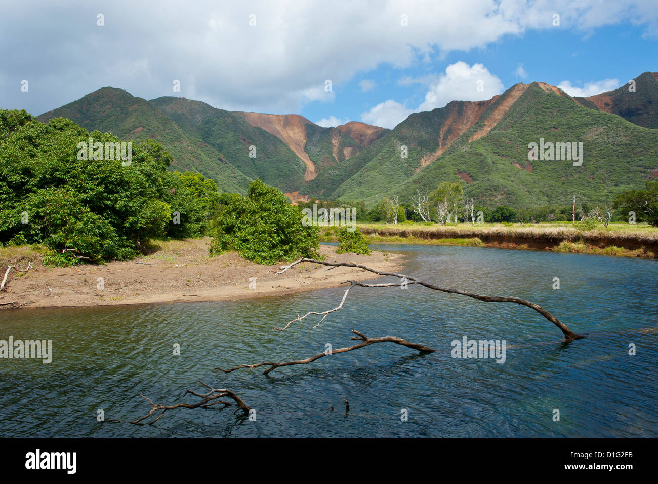 East coast of Grande Terre, New Caledonia, Melanesia, South Pacific, Pacific - Stock Image