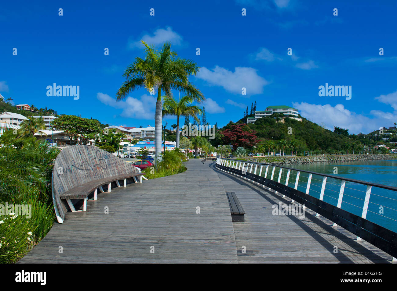 Waterfront of Noumea, New Caledonia, Melanesia, South Pacific, Pacific - Stock Image