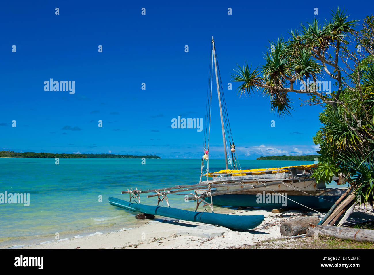 Ile des Pins, New Caledonia, Melanesia, South Pacific, Pacific - Stock Image
