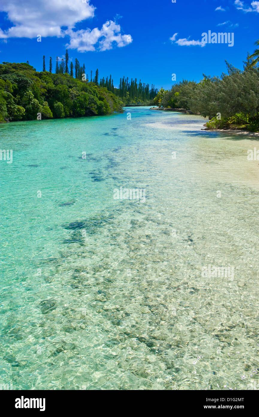 Bay de Oro, Ile des Pins, New Caledonia, Melanesia, South Pacific, Pacific - Stock Image