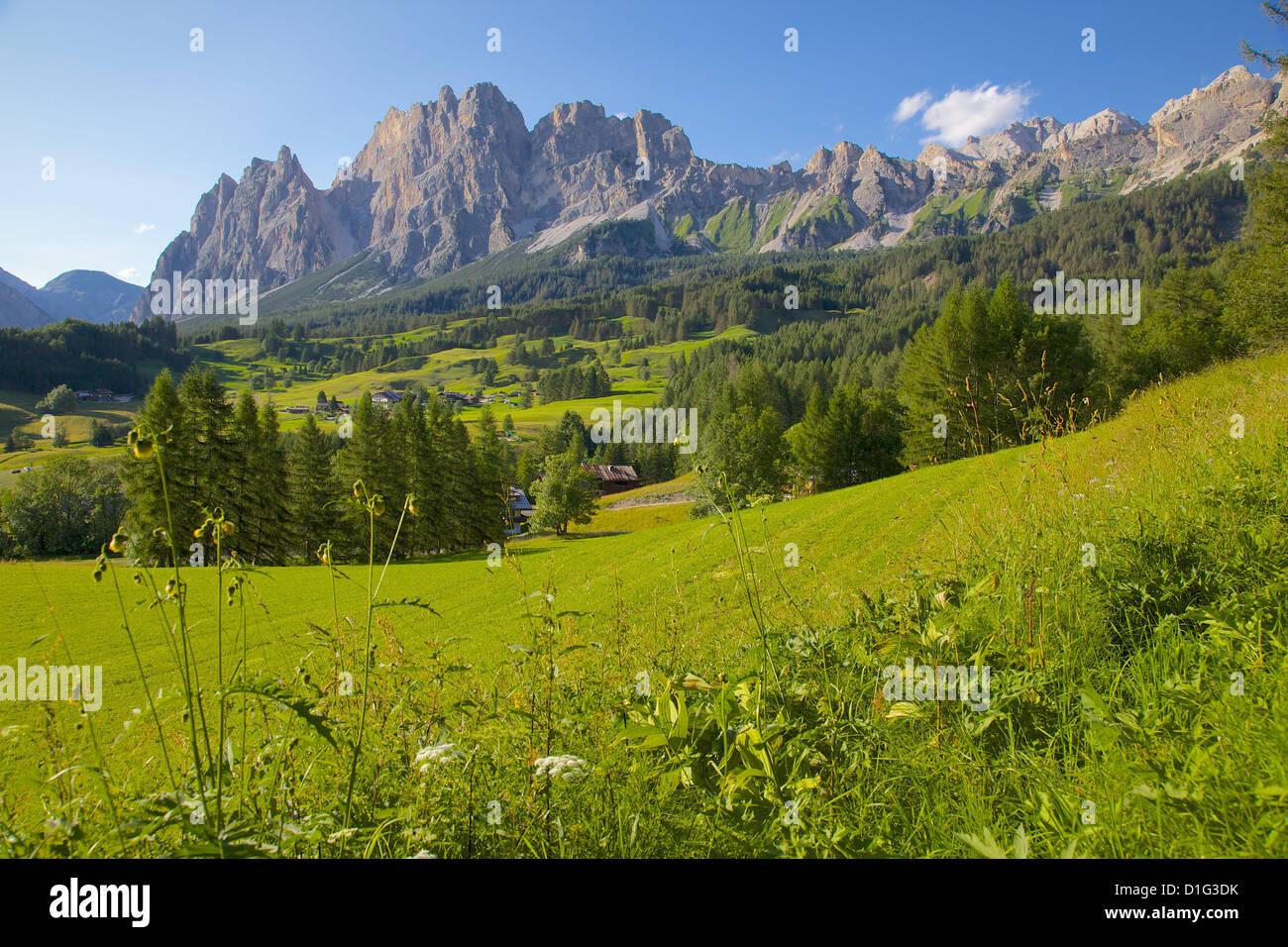 Passo Tre Croci, Belluno Province, Veneto, Italian Dolomites, Italy, Europe - Stock Image