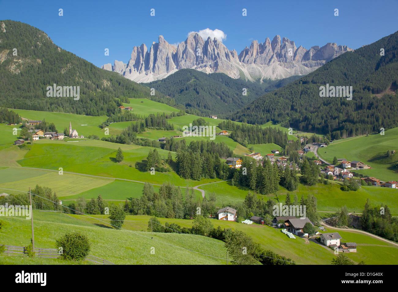 Val di Funes, Bolzano Province, Trentino-Alto Adige/South Tyrol, Italian Dolomites, Italy, Europe Stock Photo