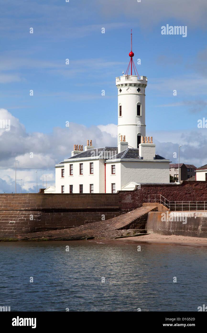 The Signal Tower Museum at Arbroath, Angus, Scotland, United Kingdom, Europe - Stock Image