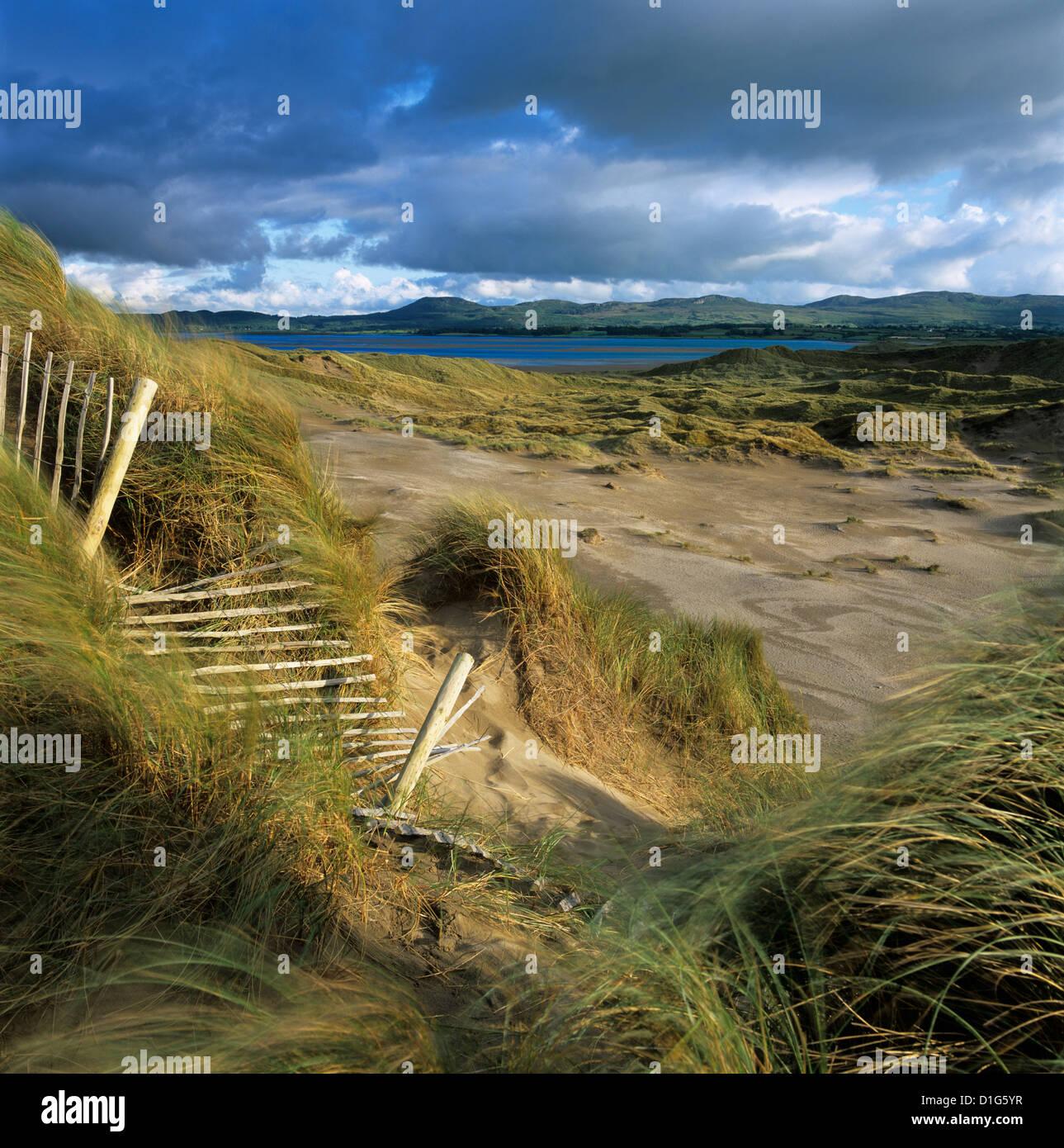 Sand dunes, Strandhill, County Sligo, Connacht, Repubic of Ireland, Europe - Stock Image