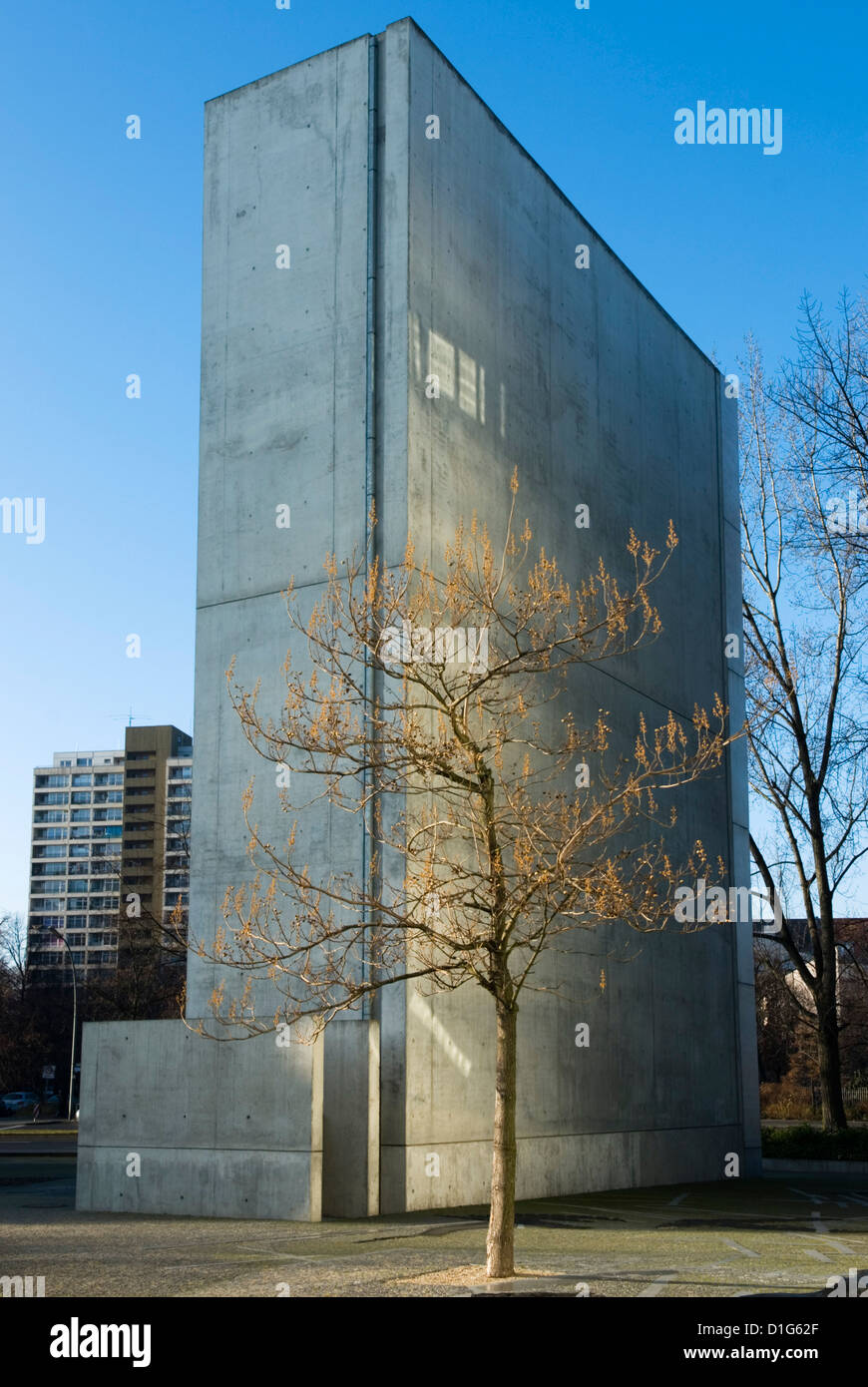 Judisches Museum (Jewish Museum) designed by Daniel Libeskind, Berlin, Germany, Europe - Stock Image