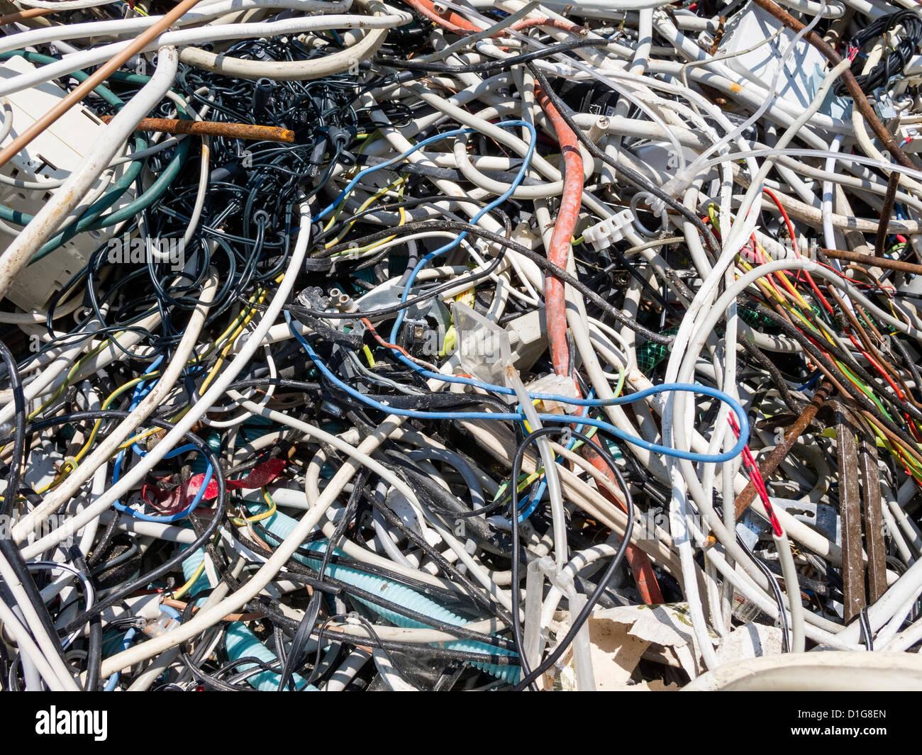 E-Waste - Stock Image