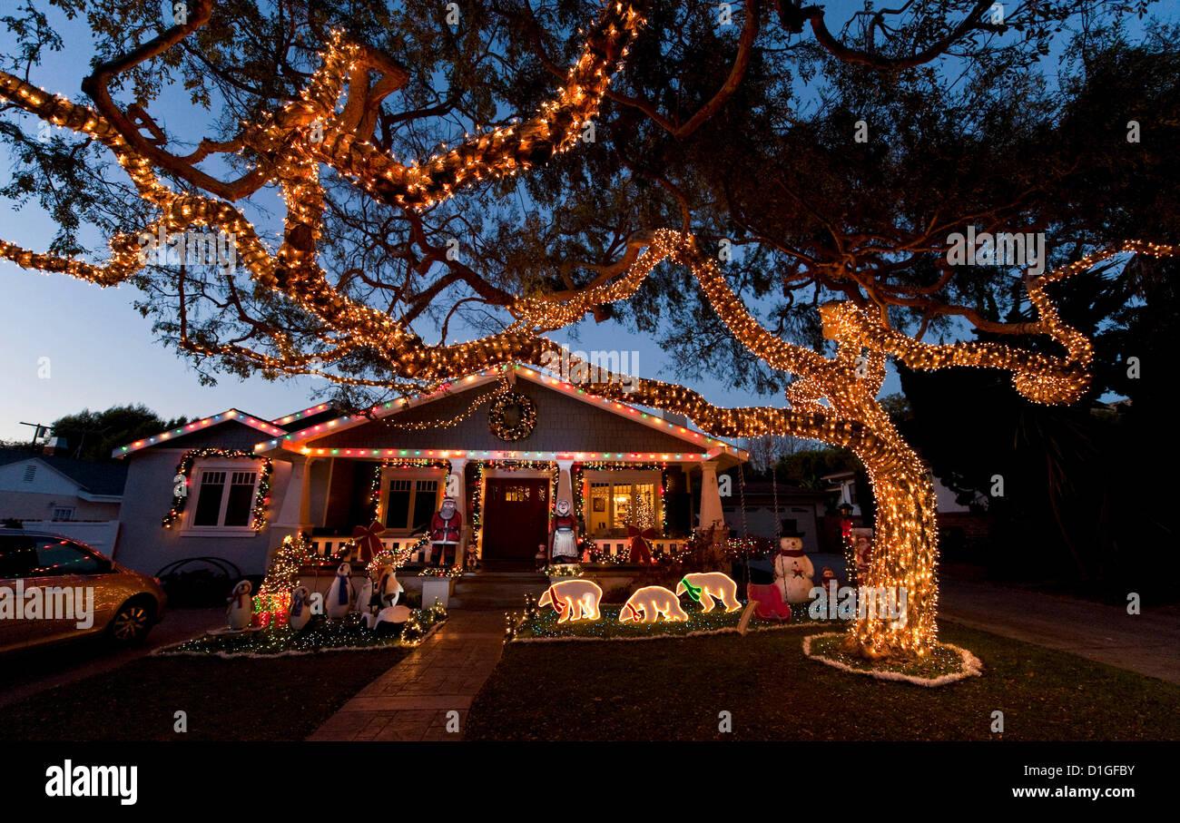 20 2012 torrance ca us torrances seaside ranchos neighborhood - Christmas Lights In Torrance