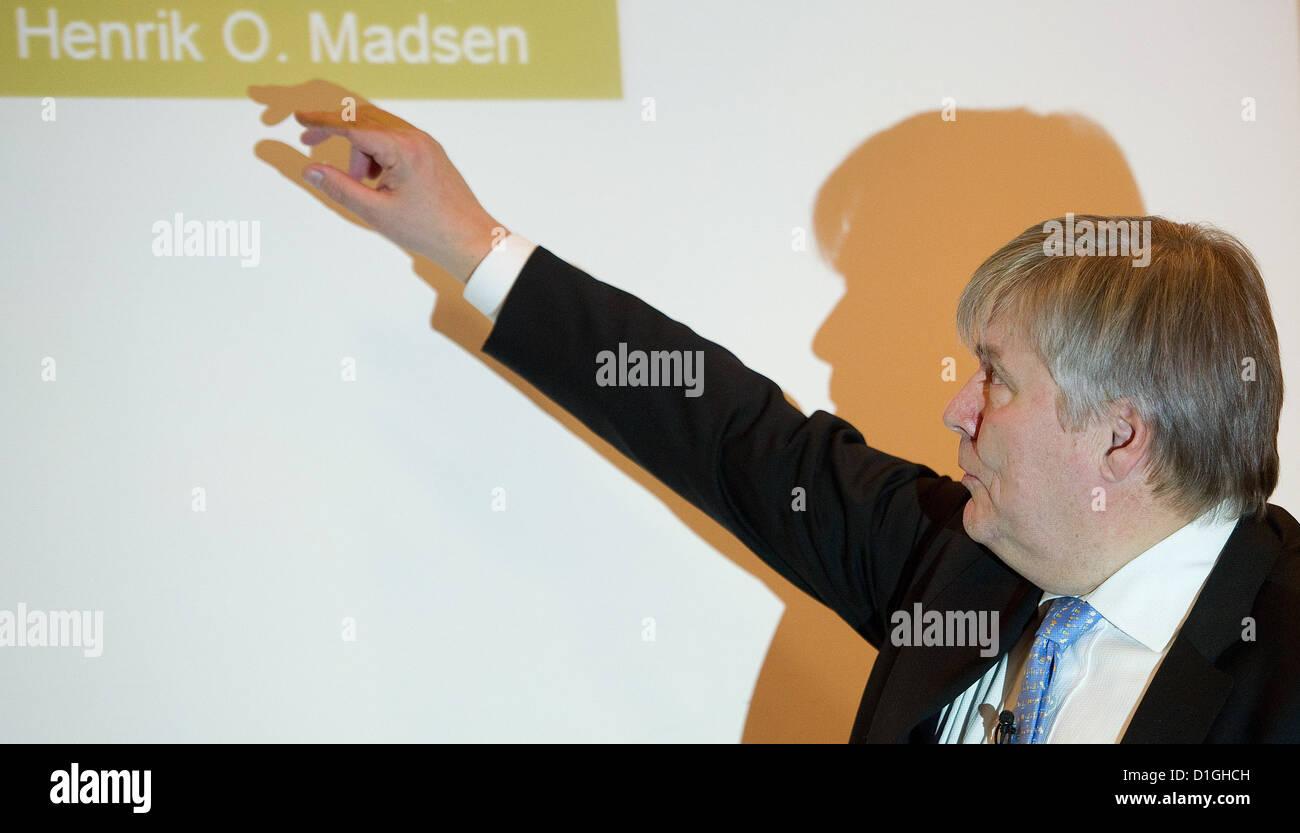 Henrik Madsen, chairman of the Norwegian company Det Norske