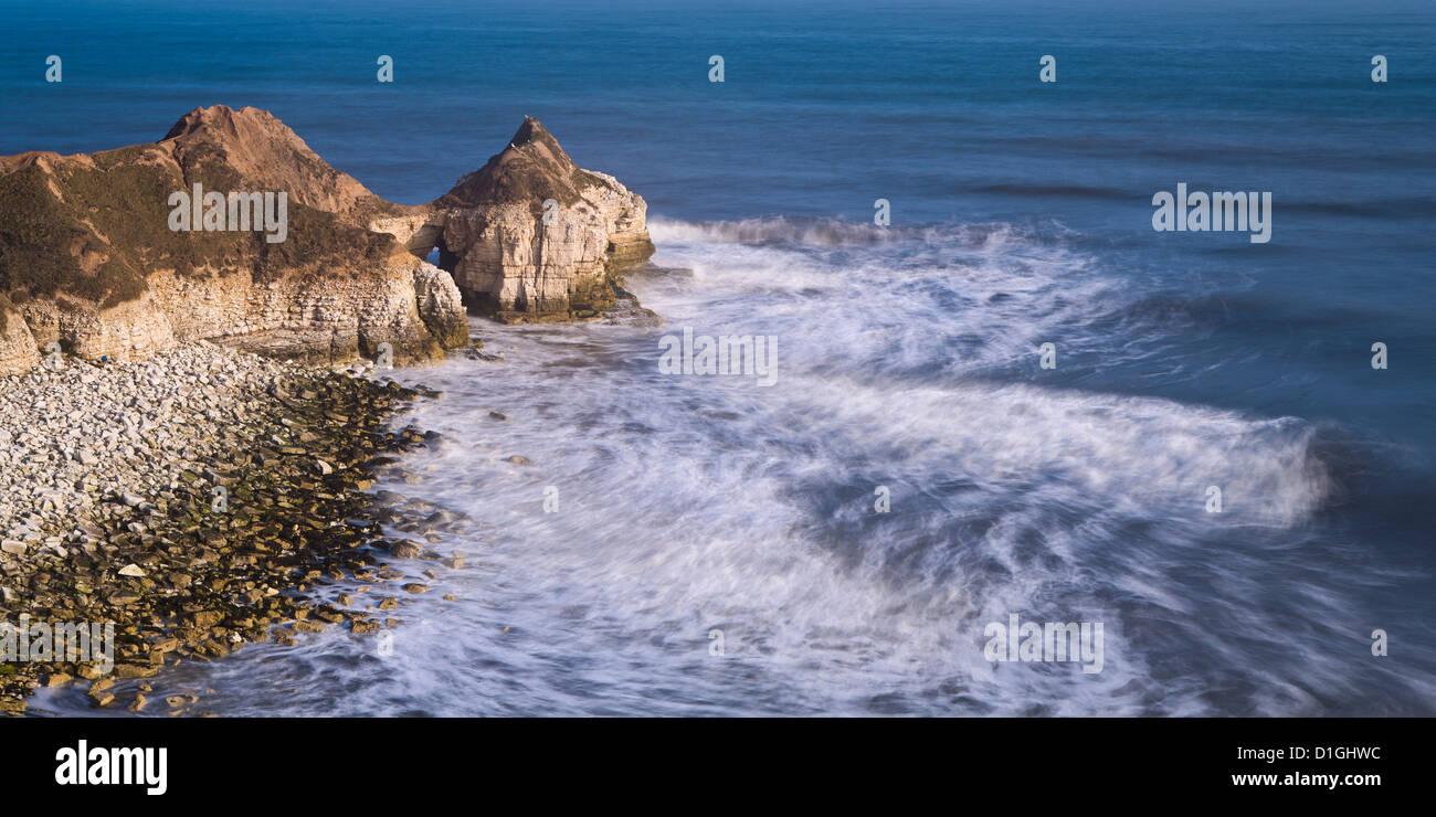 Coast, East Yorkshire, Yorkshire, England, United Kingdom, Europe - Stock Image