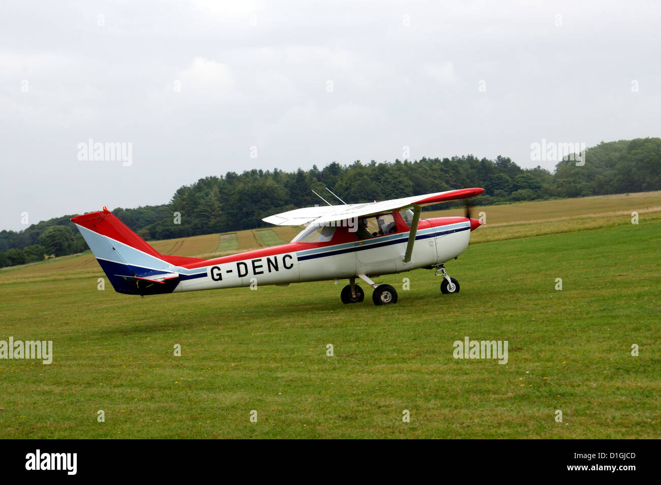 REIMS AVIATION SA, CESSNA F150G - Stock Image