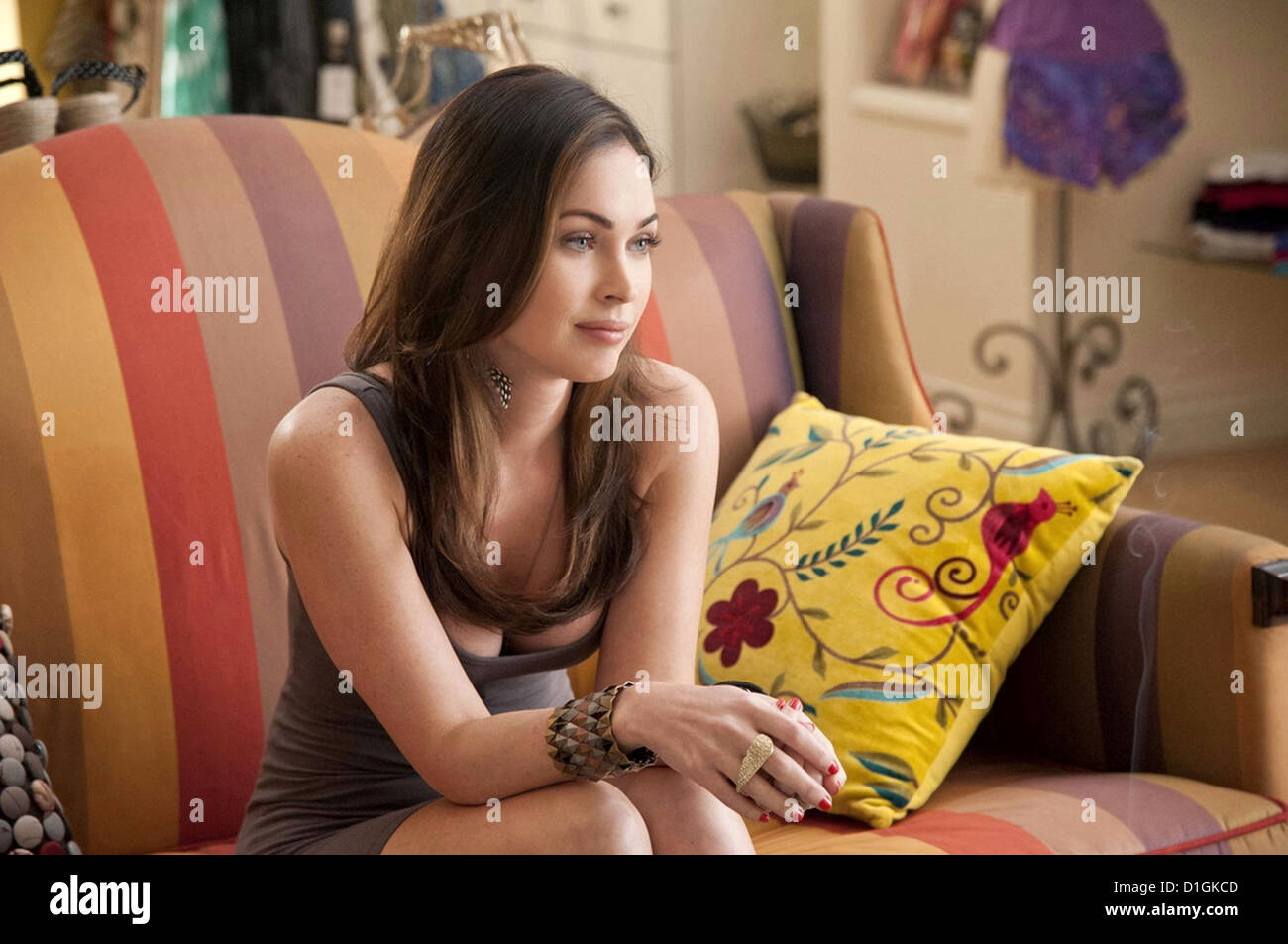 THIS IS 40  2012 Universal film with Megan Fox - Stock Image