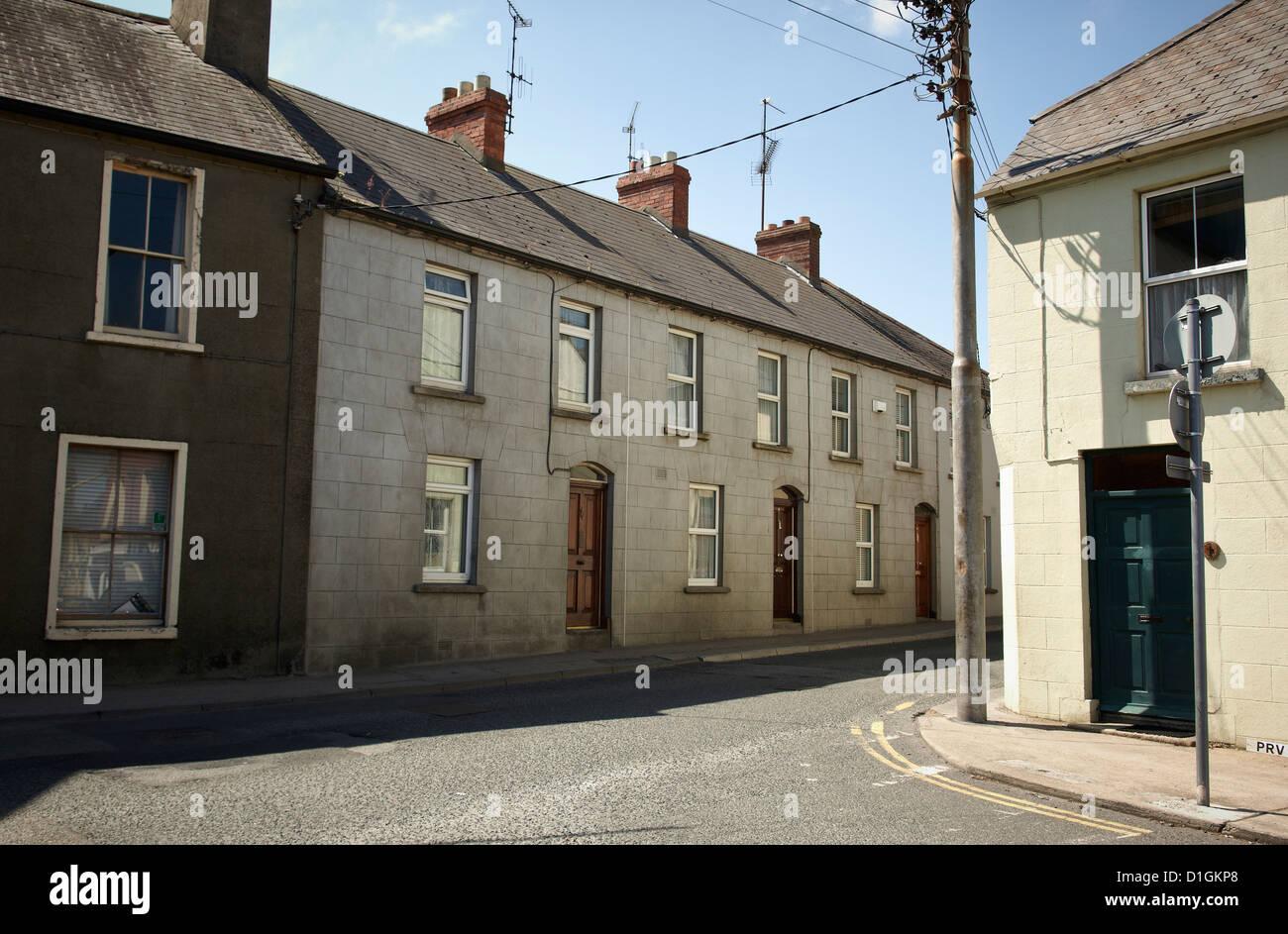 Street scene, Wexford, Leinster, Republic of Ireland, Europe - Stock Image