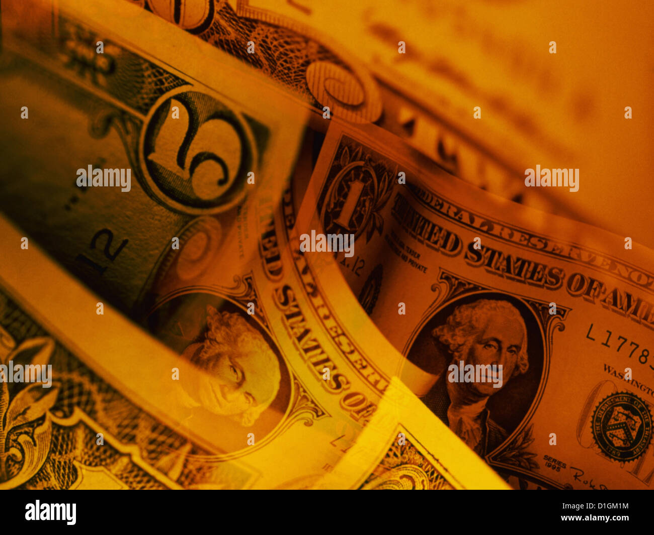 Five dollar - Stock Image