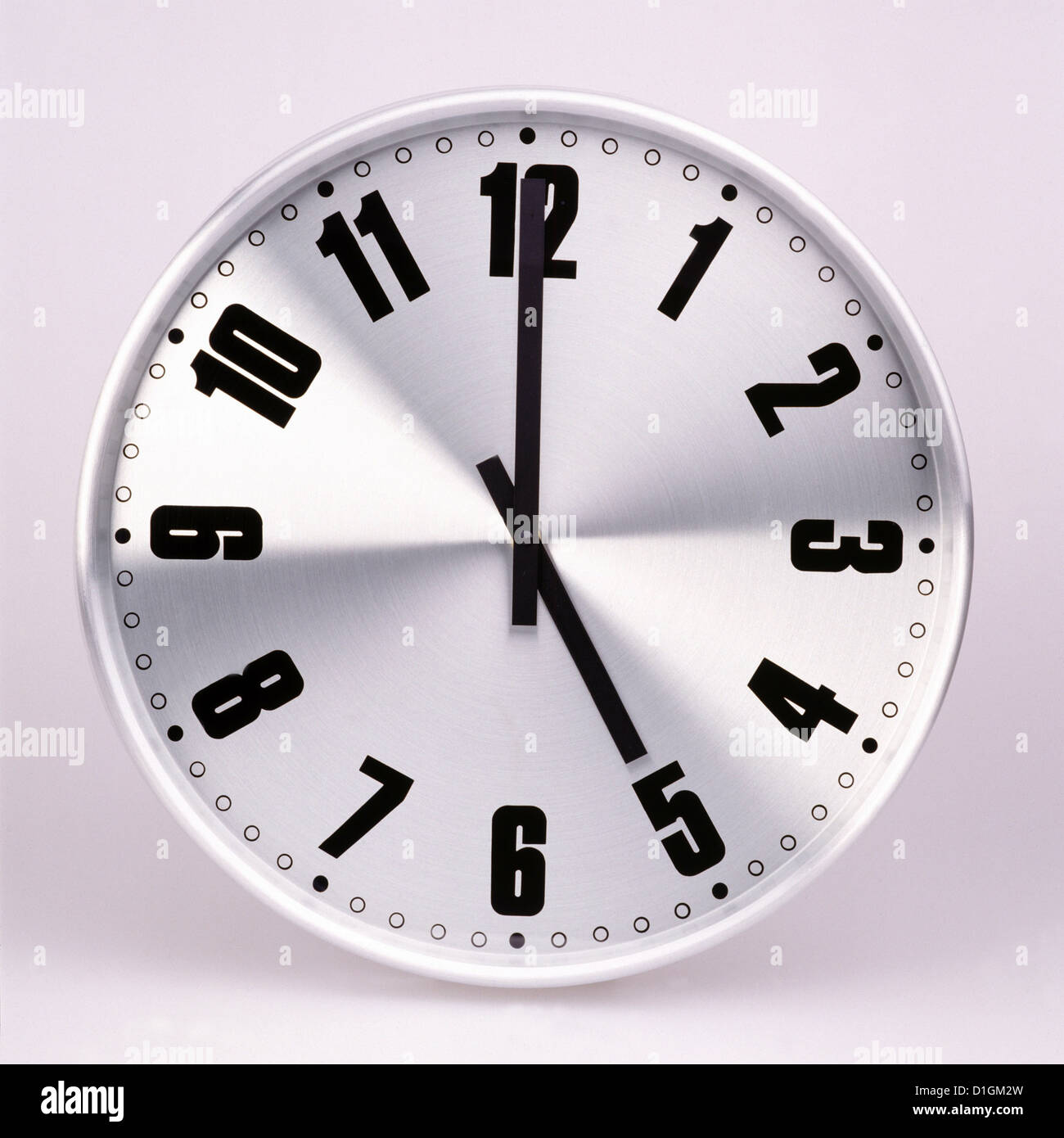 Office wall clock - Stock Image