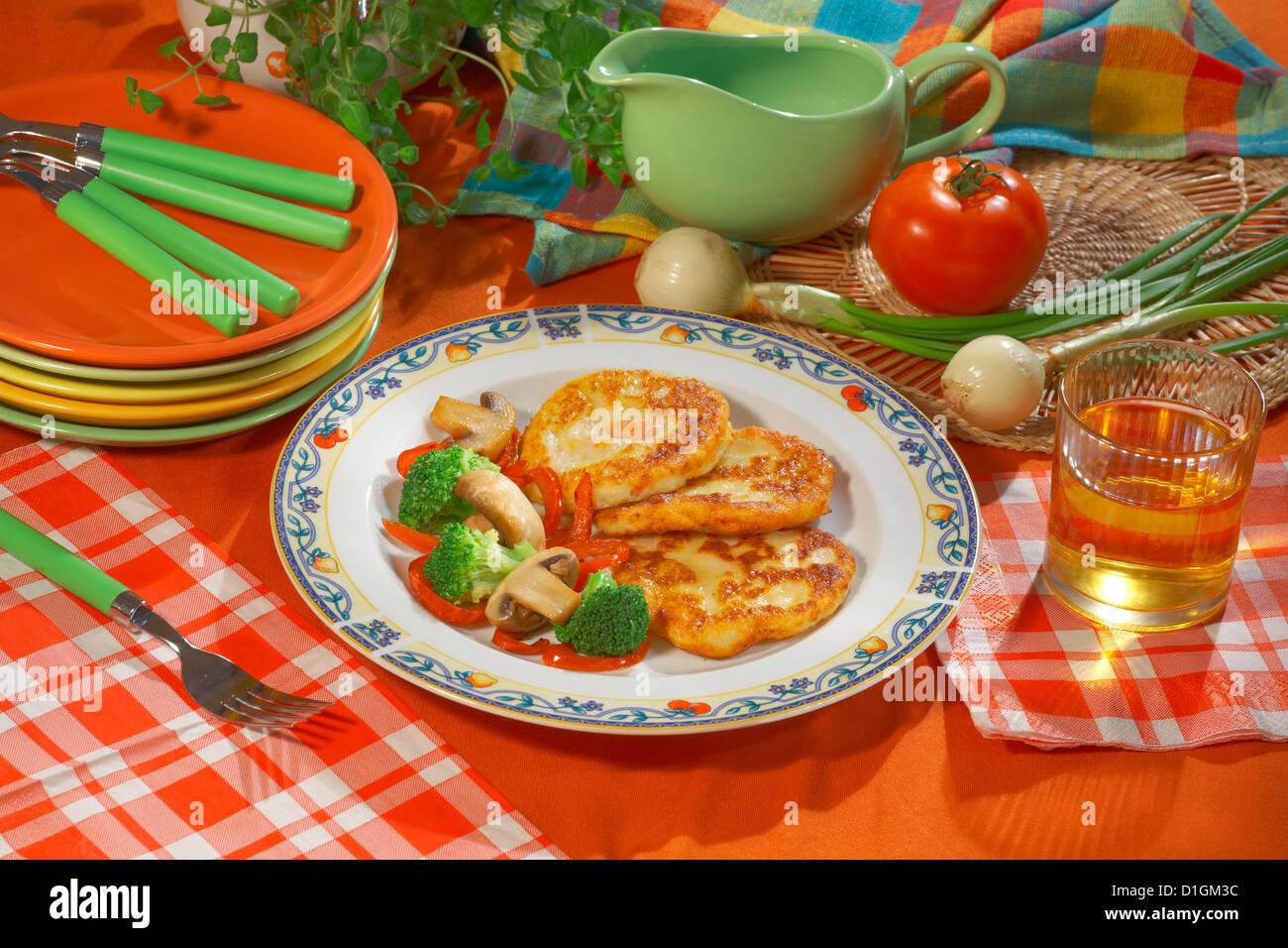 Potato Pancakes - Stock Image