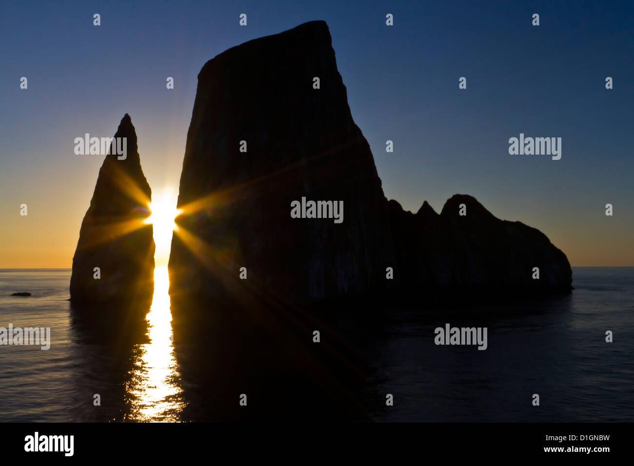Leon Dormido (Sleeping Lion Island), Galapagos Islands, UNESCO World Heritage Site, Ecuador, South America - Stock Image