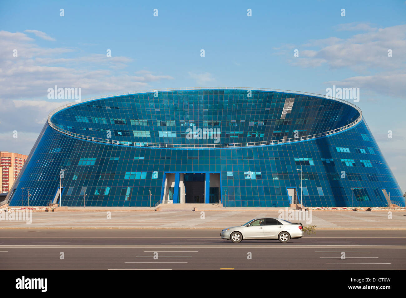 Shabyt Palace of Arts, Astana, Kazakhstan, Central Asia, Asia - Stock Image