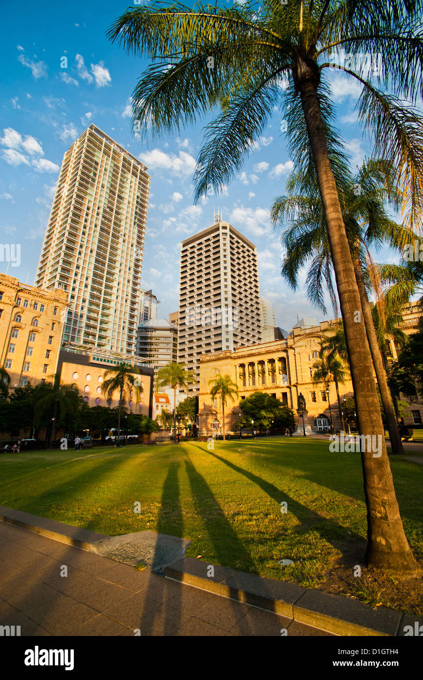 Treasury Casino Building in Brisbane city centre, Brisbane, Queensland, Australia, Pacific - Stock Image